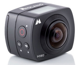 H180 Wi-Fi FULL HD action camera