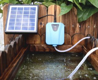 solarbetriebene luftpumpe hy aq13 handbuch deutsche. Black Bedroom Furniture Sets. Home Design Ideas